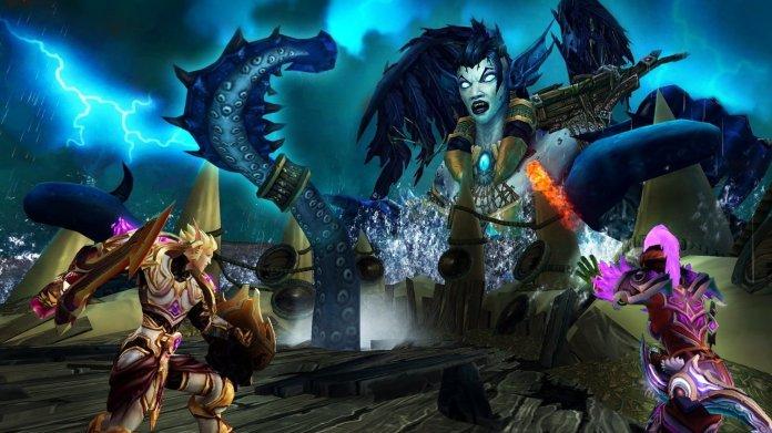 World of Warcraft screenshot from Maw of Souls