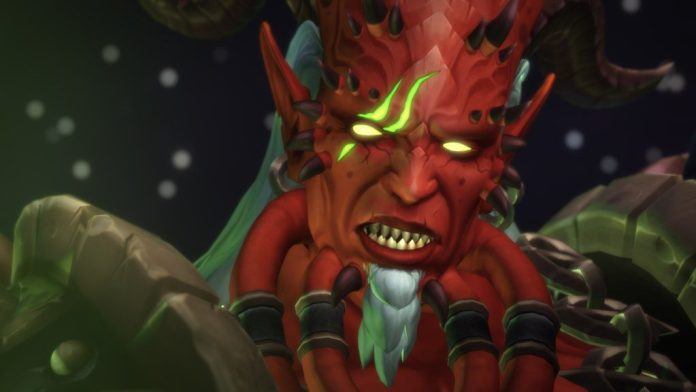Picture of Kil'jaeden from World of Warcraft Legion