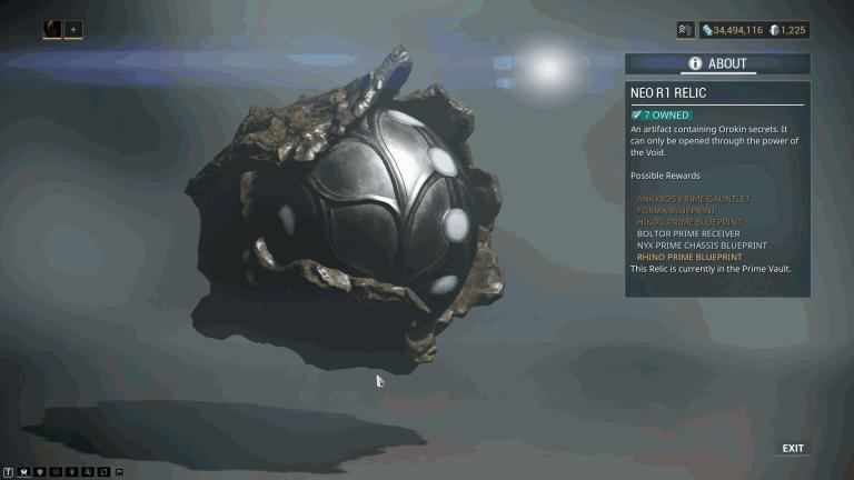 NEO R1 Relic