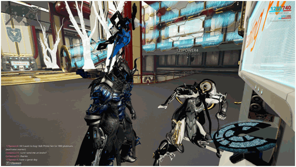 Trading Completed in Warframe