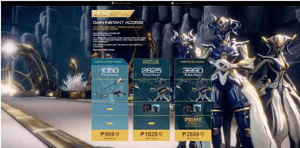 Equinox Prime - Prime Access