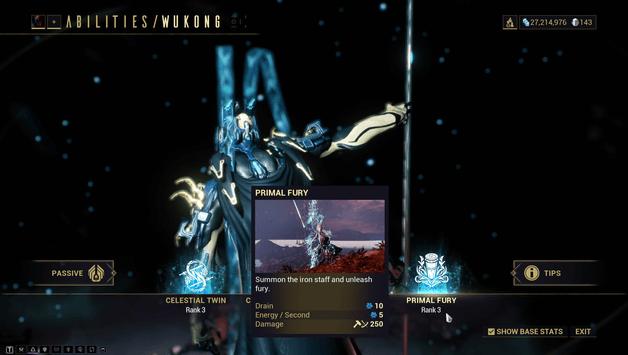 Wukong Prime Build