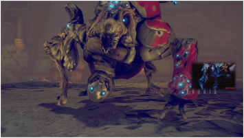 Warframe Phorid boss