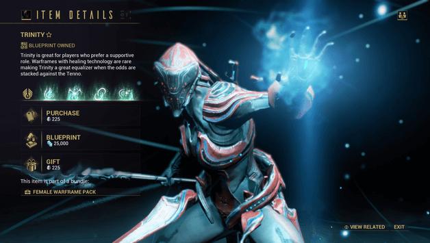 Warframe Trinity Build 2019 Guide - ProGameTalk