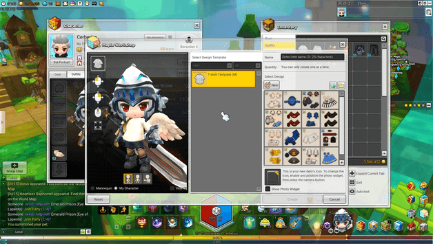 MapleStory 2 Custom Clothes