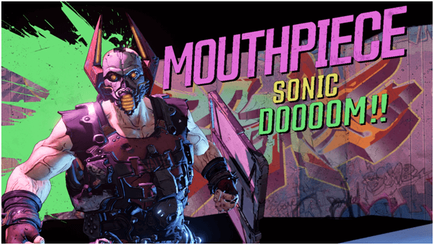 Borderlands 3 Mouthpiece Boss