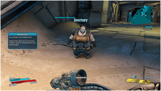 Borderlands 3 Sanctuary Mission