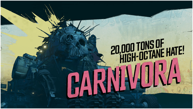 Borderlands 3 Carnivora Boss