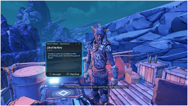 Borderlands 3 Life of the Party Mission