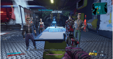 Borderlands 3 Jack's Wild Mission