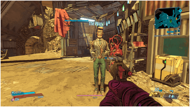 Borderlands 3 The Plan Mission
