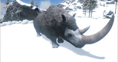 Ark Woolly Rhino