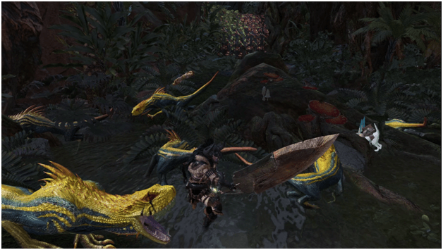 A Thicket of Thugs mhw optional quest