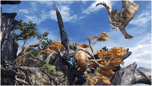 Gettin' Yolked in the Forest mhw optional quest