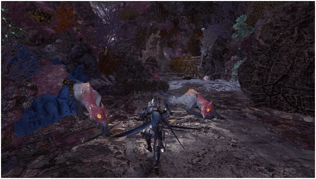 It's a Crying Shamos mhw optional quest