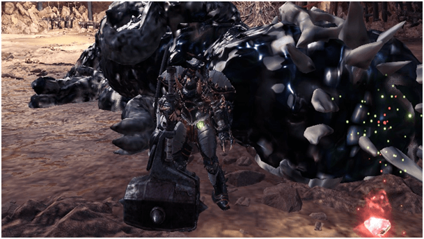 MHW Hammer Weapon