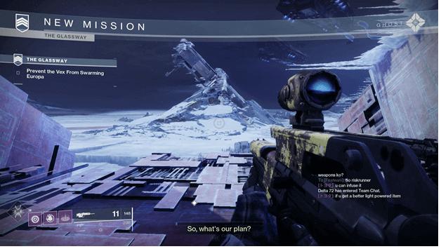 Destiny 2 The Glassway Strike