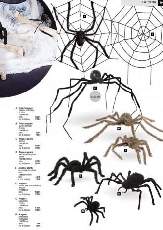 Déco araignée