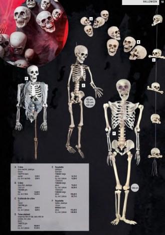 Halloween squelette deco