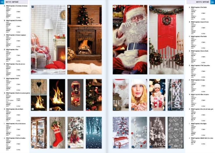 Bandeau et motif décoratif de Noël Décor de Noël