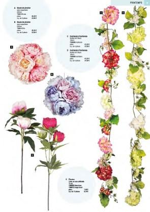 deco guirlande de fleurs