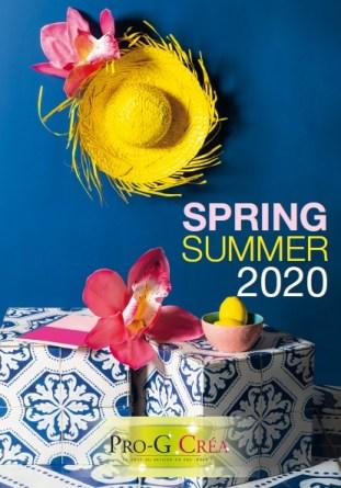 Progcrea - catalogue Déco printemps été 2020