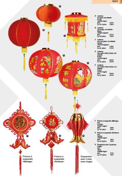 deco lanterne chinoise