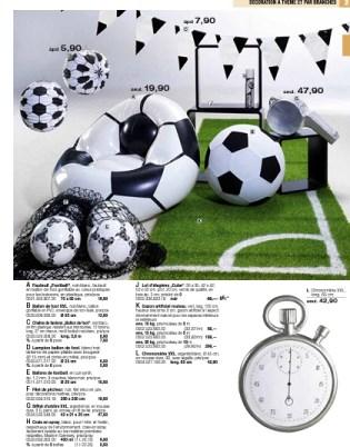 Décoration sport football
