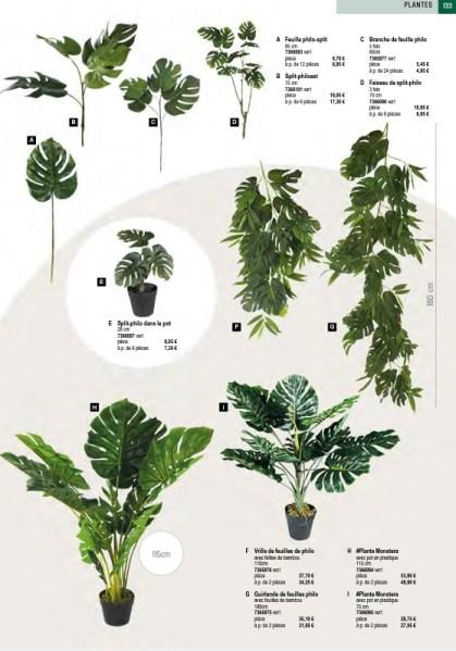 Décoration Plantes Artificielles