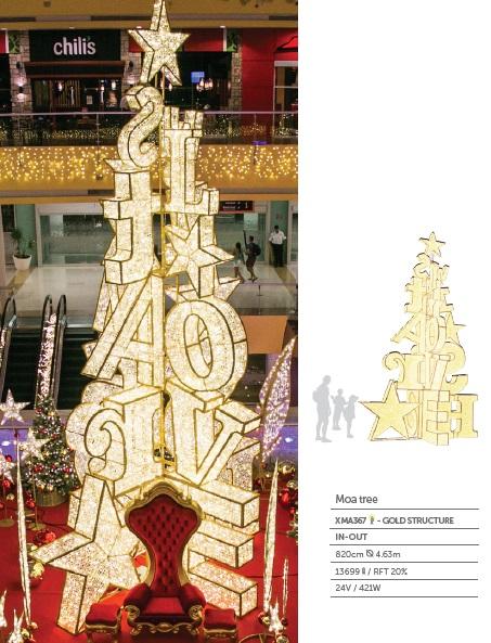 Pro-G Créa - decoration lumineuse de Noël