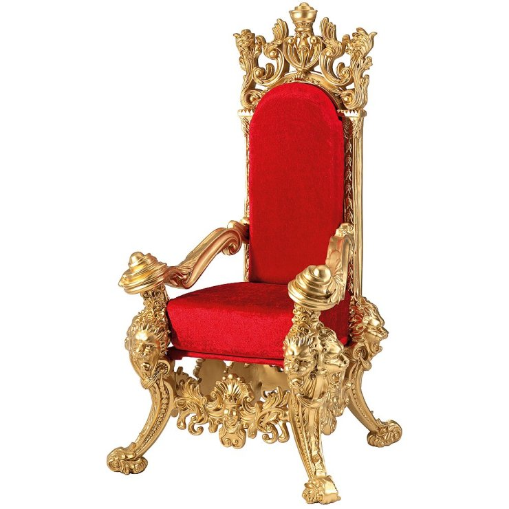 fauteuil trone