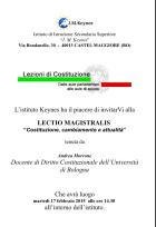 LECTIO MAGISTRALIS prof. Andrea Morrone, 17/02/2015