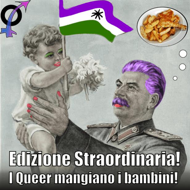 queer-mangiano-bambin logoi