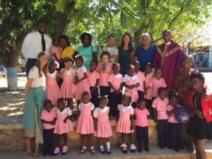 Classe scolastica ad Haiti