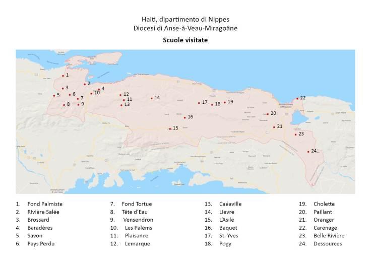 elenco scuole haiti