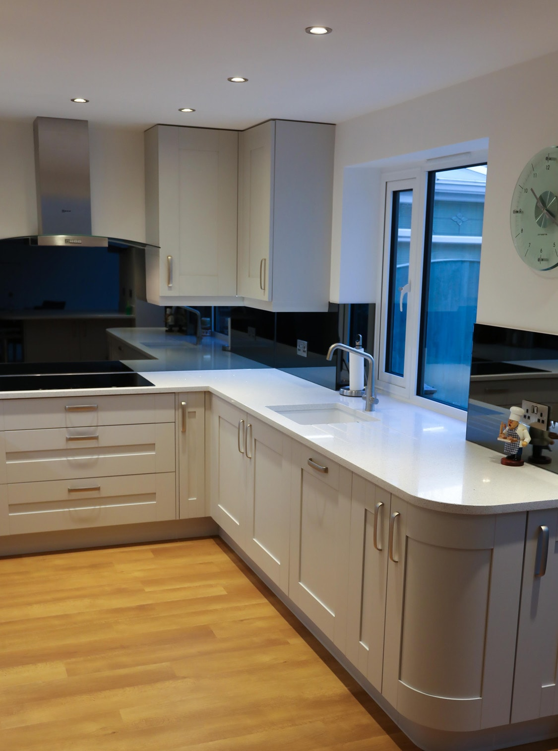 Grey Mirror Glass Splashback  Glass Splashbacks Pro Glass 4