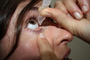 Csepp a látásélesség retikulin
