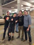 Arthur, Devin Townsend, Thomas, and David (our other brother)