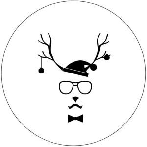 Hipster Reindeer