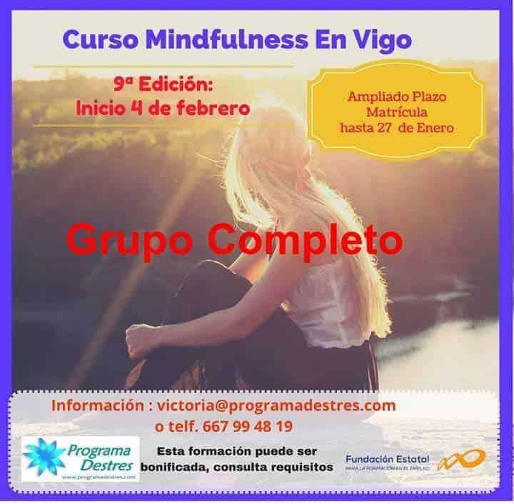 Mindfulness en Vigo  9ª edición Febrero 2017