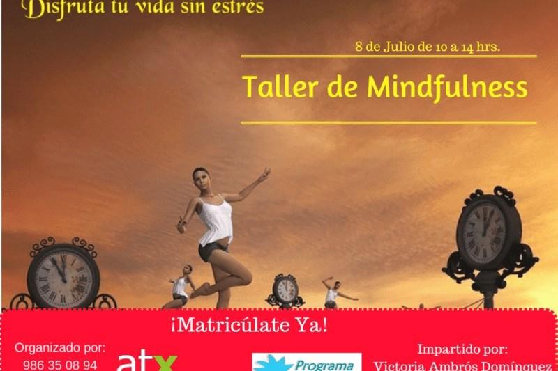 Taller de Mindfulness el 8 de julio