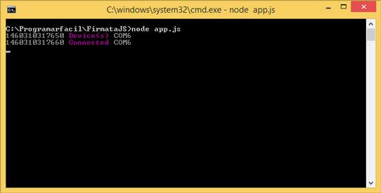 Lanzar aplicación en terminal