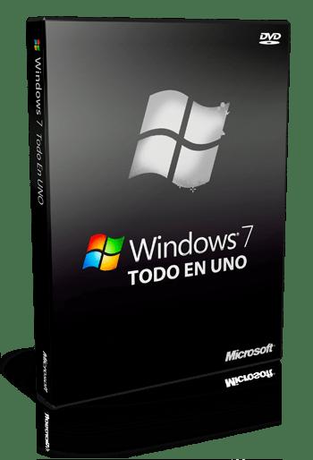 Windows 7 Todo En 1 (ISO Original) (Español) ( 32 & 64 Bits)