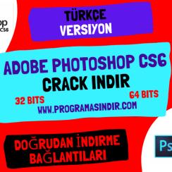 Adobe Photoshop CS6 Crack Indir