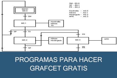 Programas para hacer Grafcet Gratis