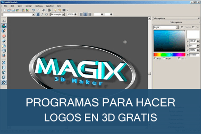Programas para hacer Logos en 3D Gratis