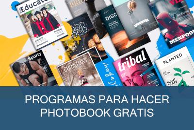 Programas para hacer Photobook o foto libros Gratis