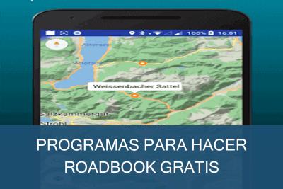 Programas para hacer Roadbook Gratis