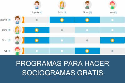 Programas para hacer Sociogramas Gratis