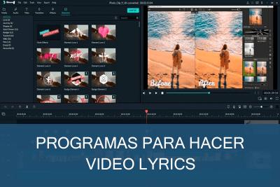 Programas para hacer Vídeo Lyrics Gratis